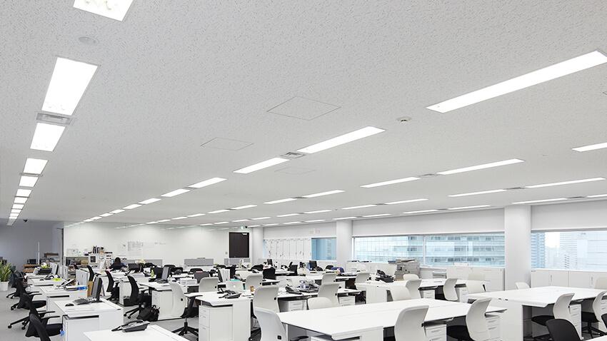 オフィスの照明