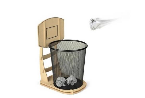 バスケットボール・ゴミ箱