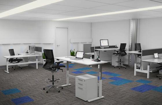 8.Axis_Height Adjustable Desks_Office Layout