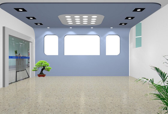 4.Office-entrance-ceiling-and-walls