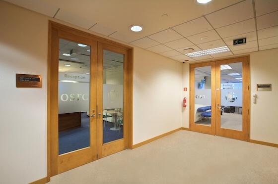 OSTC Poland - Warsaw Office Entrance