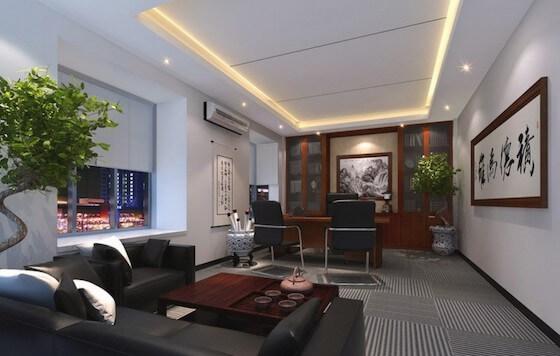 4.Office-Interior-Design-Hk-Hong-Kong-Board-President-Office-Interior-Design